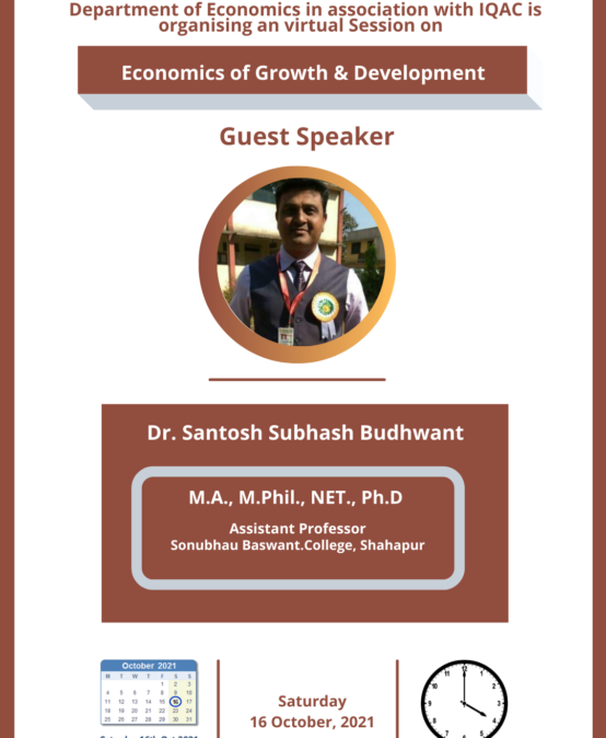 Guest lecture on Economics of Growth & Development (1) (1)